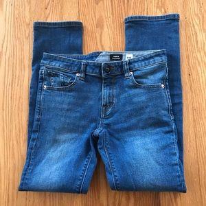 Volcom Vorta slim straight 28 skinny jeans denim